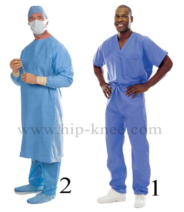ملابس الجراح