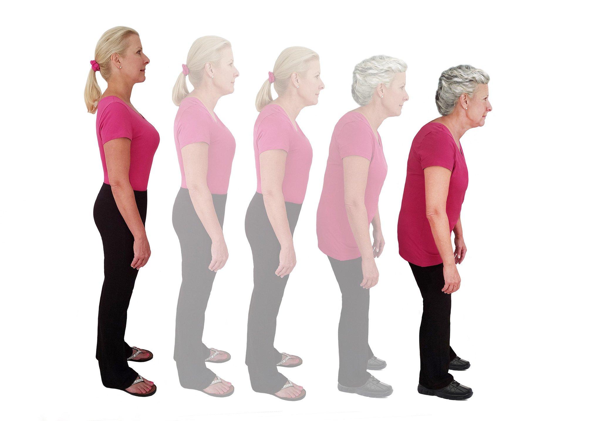 نقص الطول مع تقدم العمر