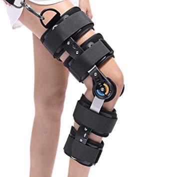 ركبة مفصلية مزودة بعداد