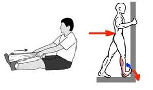 تمرينات لتقوية عضلات وأوتار القدم والساق